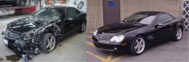 Airport auto rebuilders for Mercedes benz auto body shop